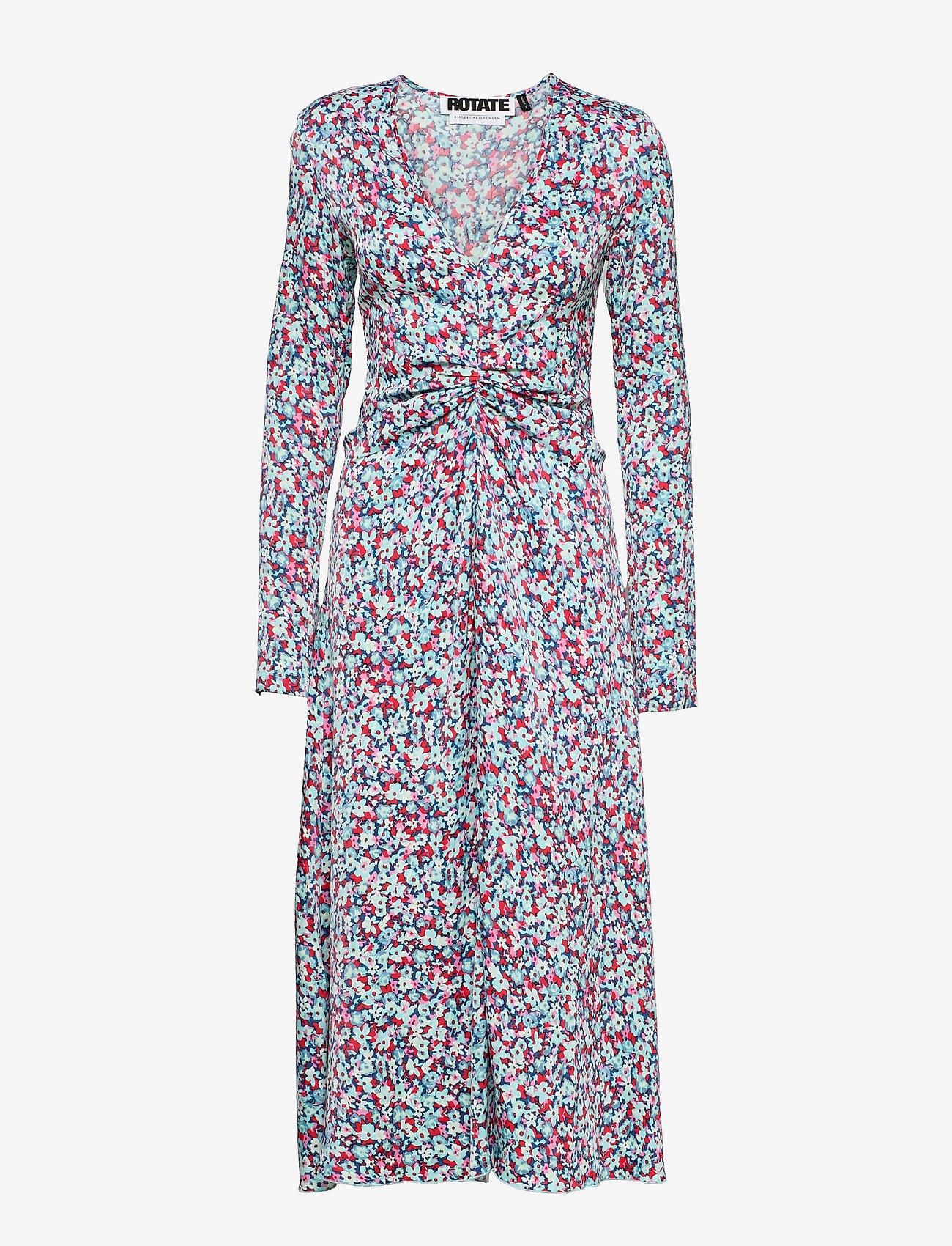 ROTATE Birger Christensen - Sierra Dress - alledaagse jurken - antigua sand comb - 0