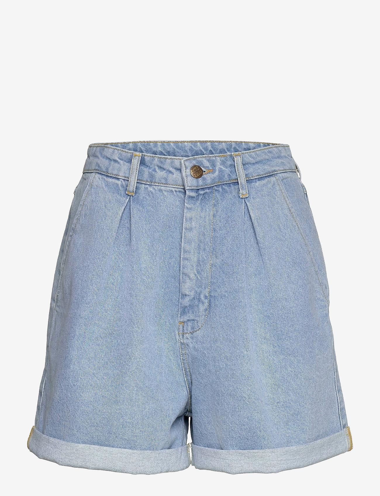ROTATE Birger Christensen - Dilone Shorts - korte jeansbroeken - light blue denim - 0