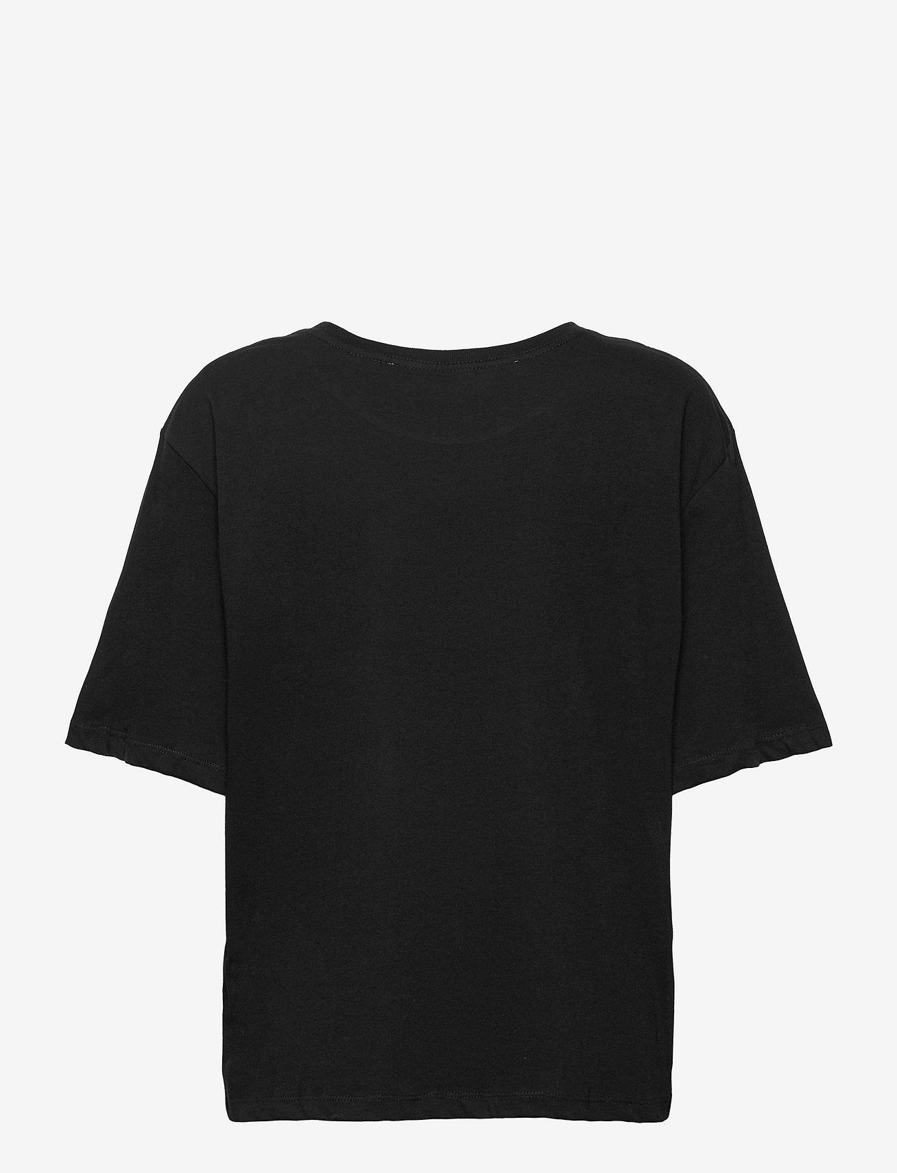 ROTATE Birger Christensen - Aster Tee - t-shirts - black - 1