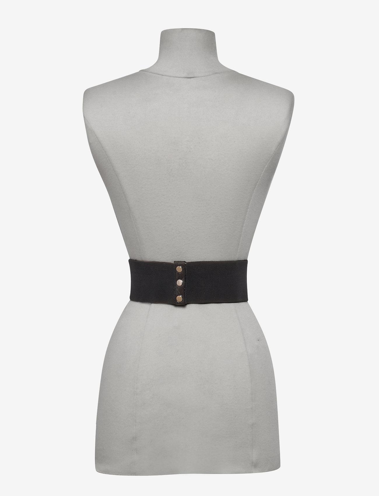 ROTATE Birger Christensen - Lindsay Elastic Belt - accessoires - black - 1