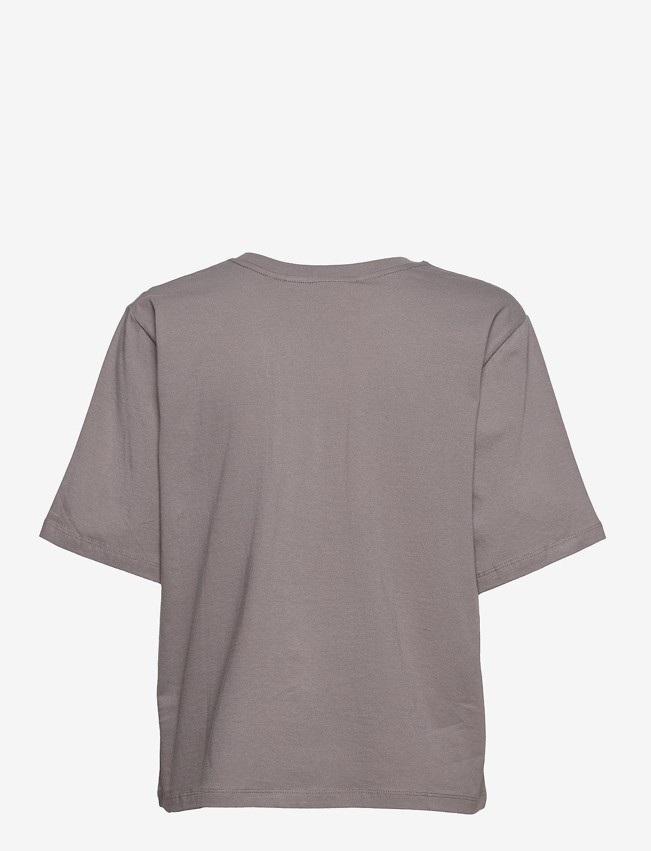 ROTATE Birger Christensen - Aster T-Shirt - t-shirts - cloudburst - 2