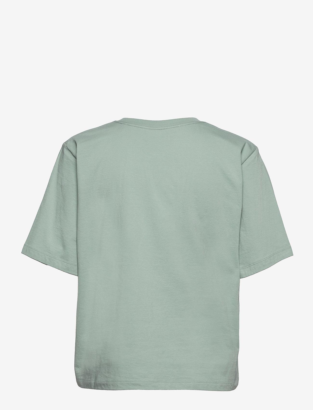ROTATE Birger Christensen - Aster T-Shirt - t-shirts - blue surf - 2