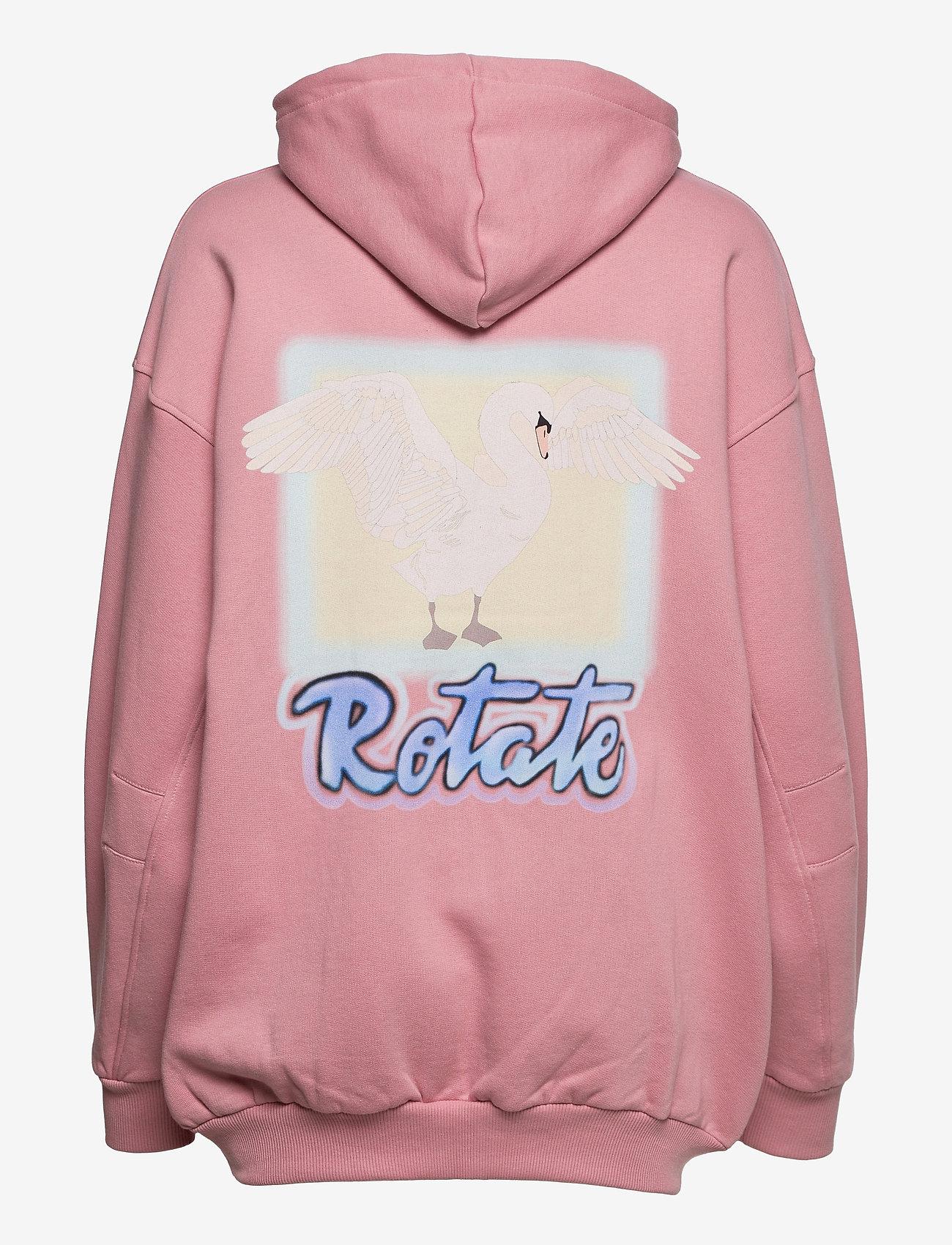 ROTATE Birger Christensen - Selma Hoddie Zip - sweatshirts en hoodies - lilas - 2