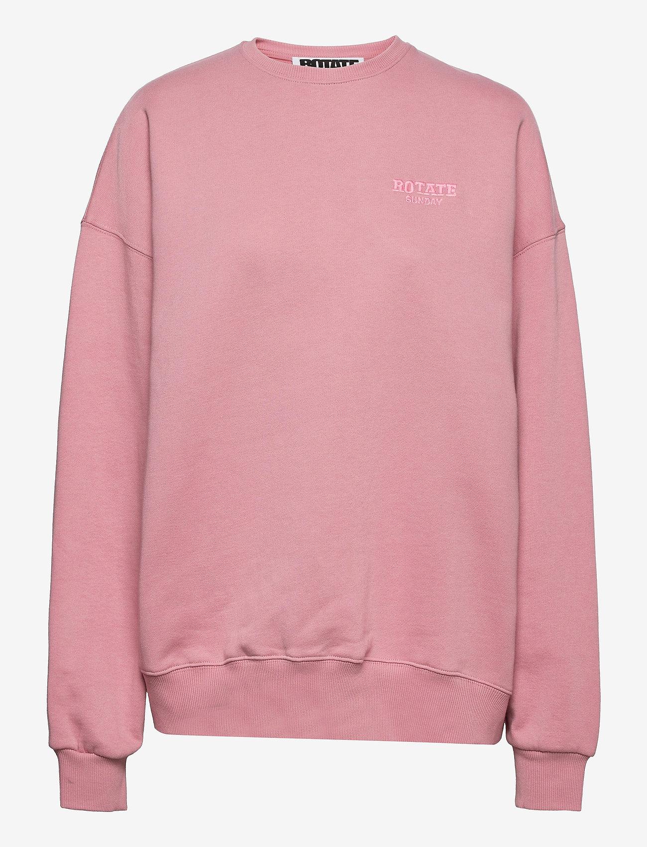 ROTATE Birger Christensen - Iris Crewneck - sweatshirts en hoodies - lilas - 1