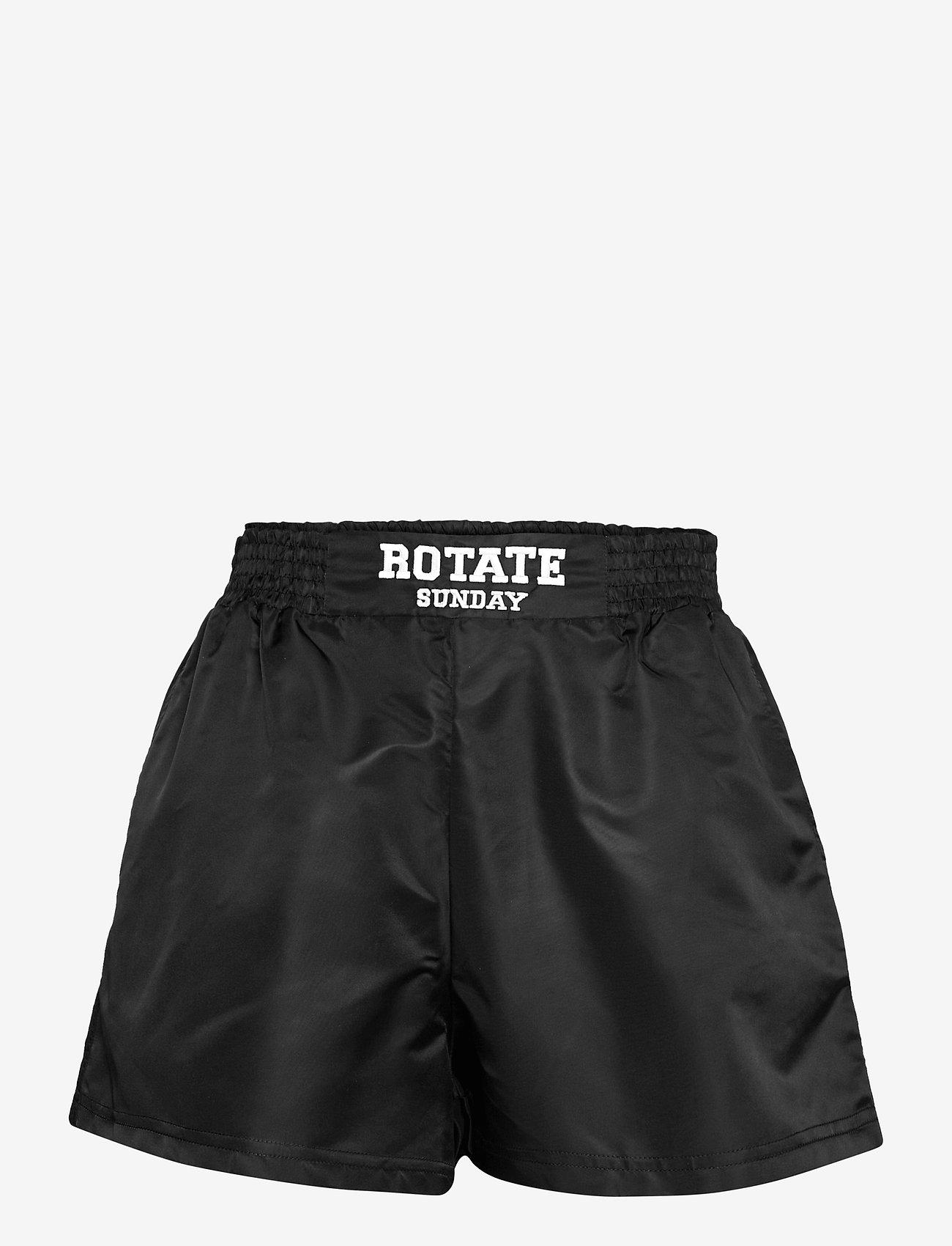 ROTATE Birger Christensen - Roxy Shorts - shorts casual - black - 1