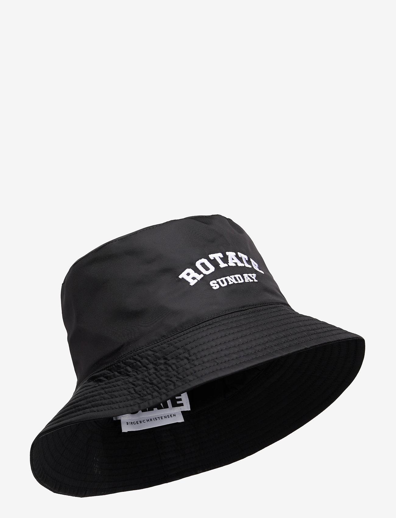 ROTATE Birger Christensen - Bianca Bucket Hat - bøllehatte - black - 1