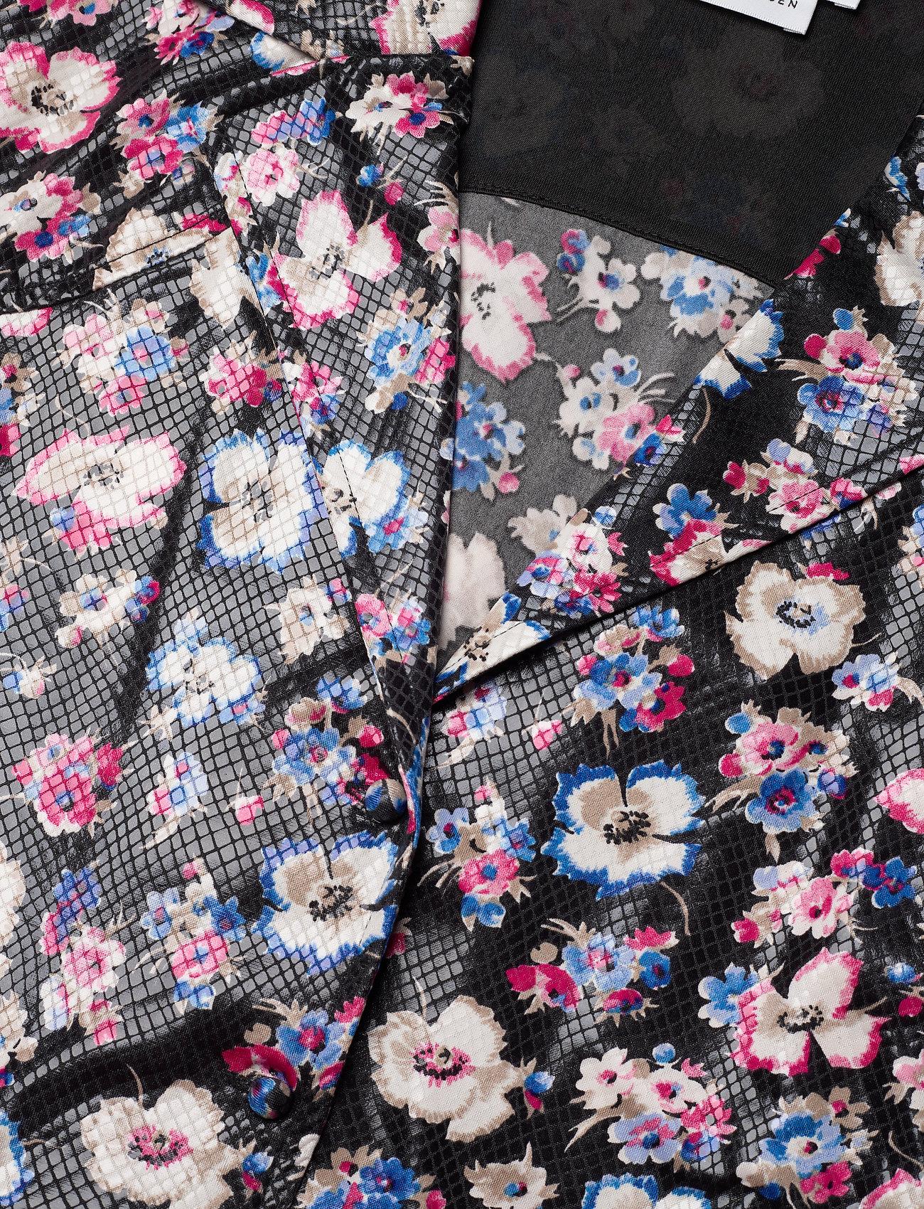 ROTATE Birger Christensen - Jojo Shirtdress - maxi dresses - black combi - 2