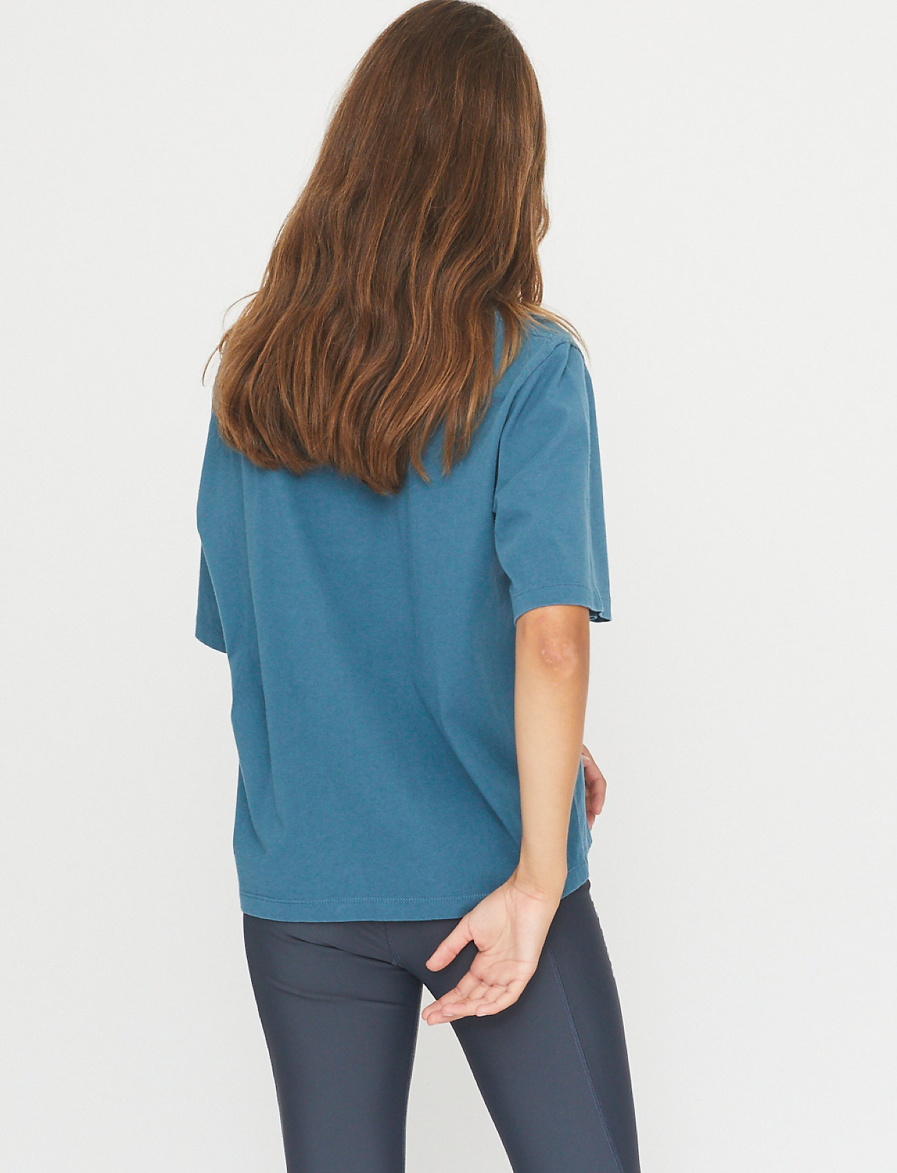 ROTATE Birger Christensen - Aster T-shirt - t-shirts - mallard blue - 3