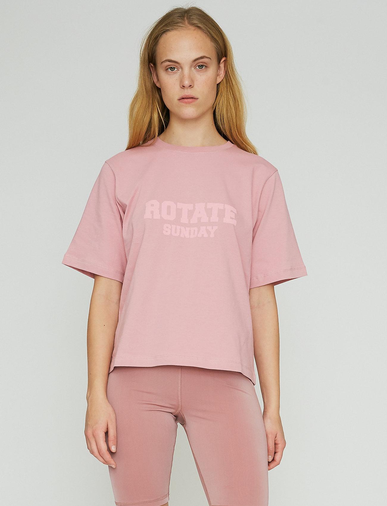 ROTATE Birger Christensen - Aster T-Shirt - t-shirts - lilas - 0
