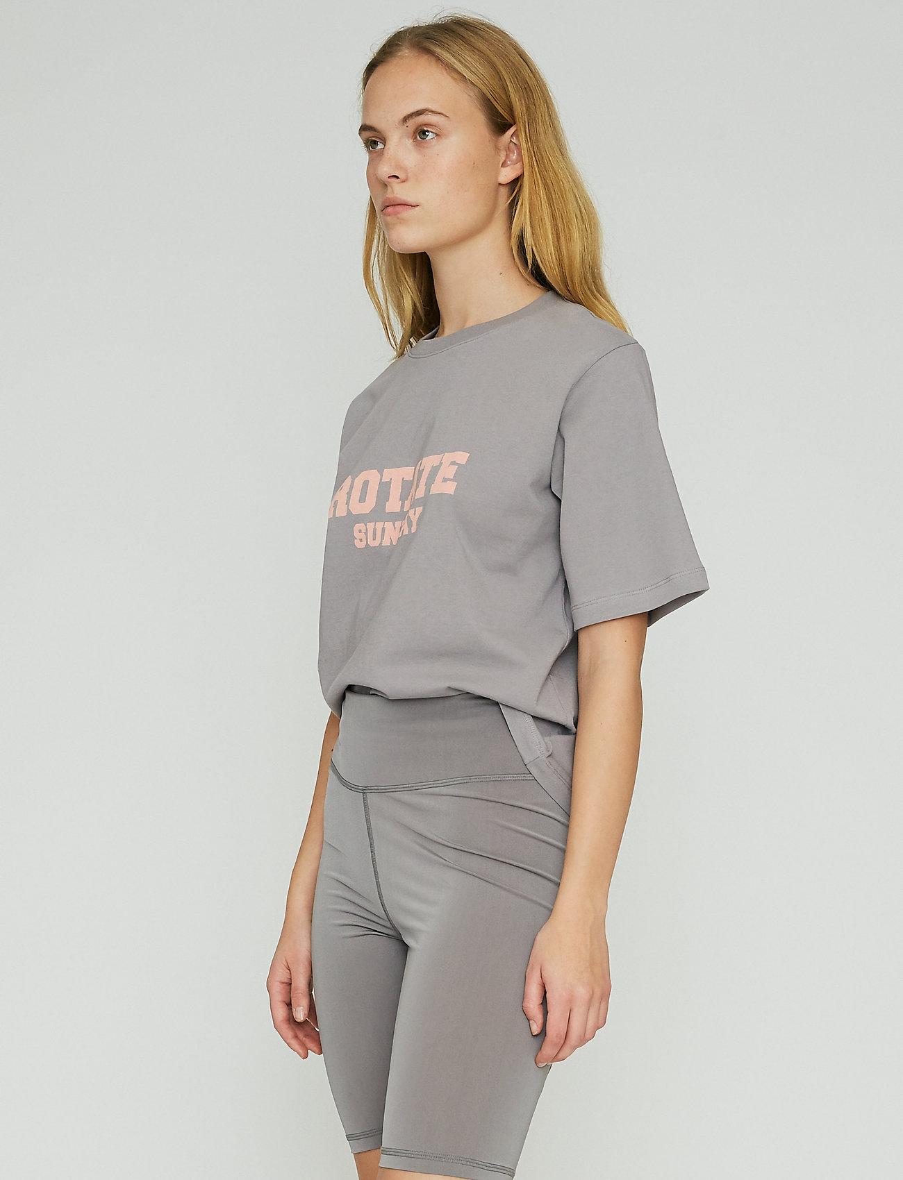 ROTATE Birger Christensen - Aster T-Shirt - t-shirts - cloudburst - 4