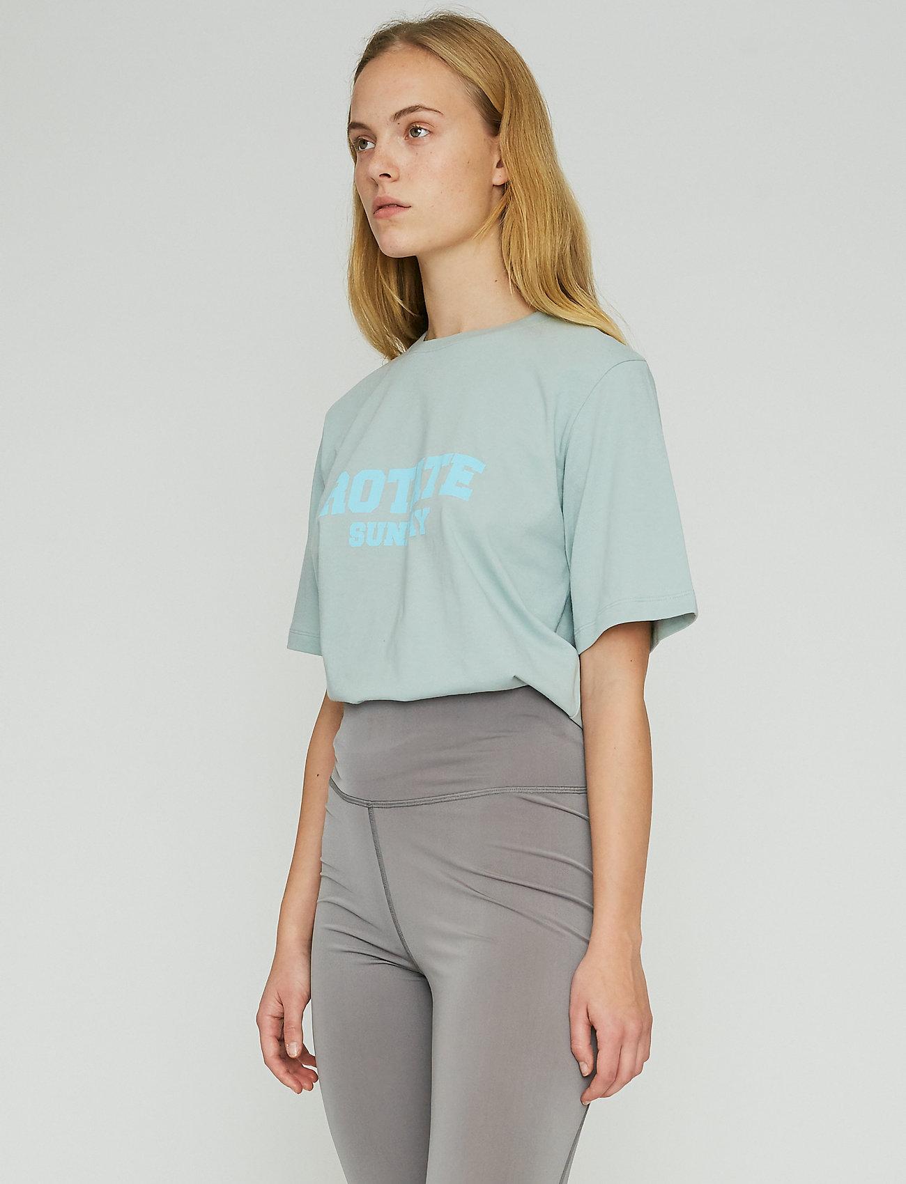 ROTATE Birger Christensen - Aster T-Shirt - t-shirts - blue surf - 4