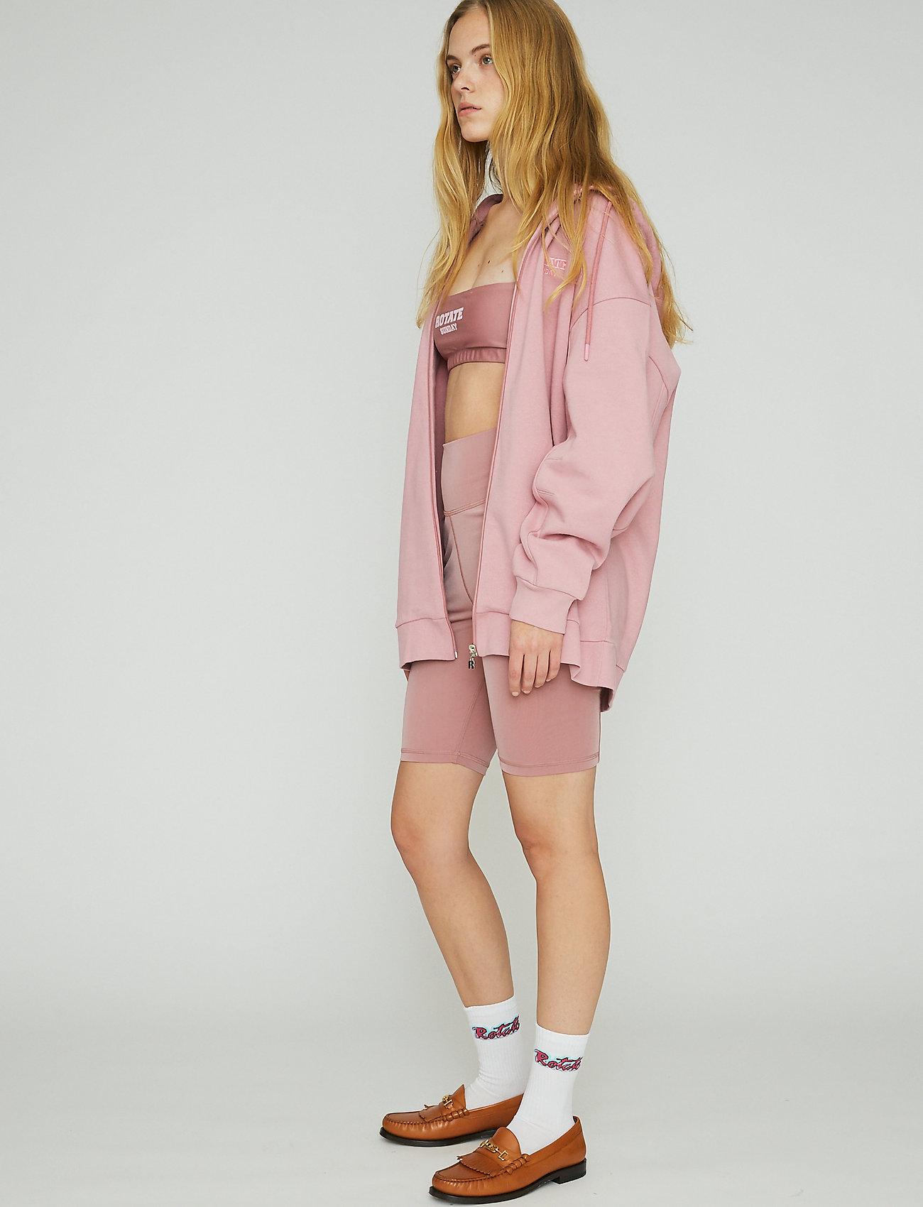 ROTATE Birger Christensen - Selma Hoddie Zip - sweatshirts en hoodies - lilas - 4