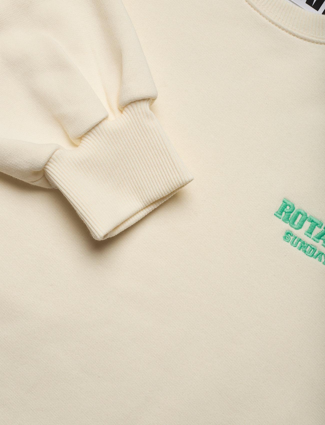 ROTATE Birger Christensen - Iris Crewneck - sweatshirts en hoodies - winter white - 2