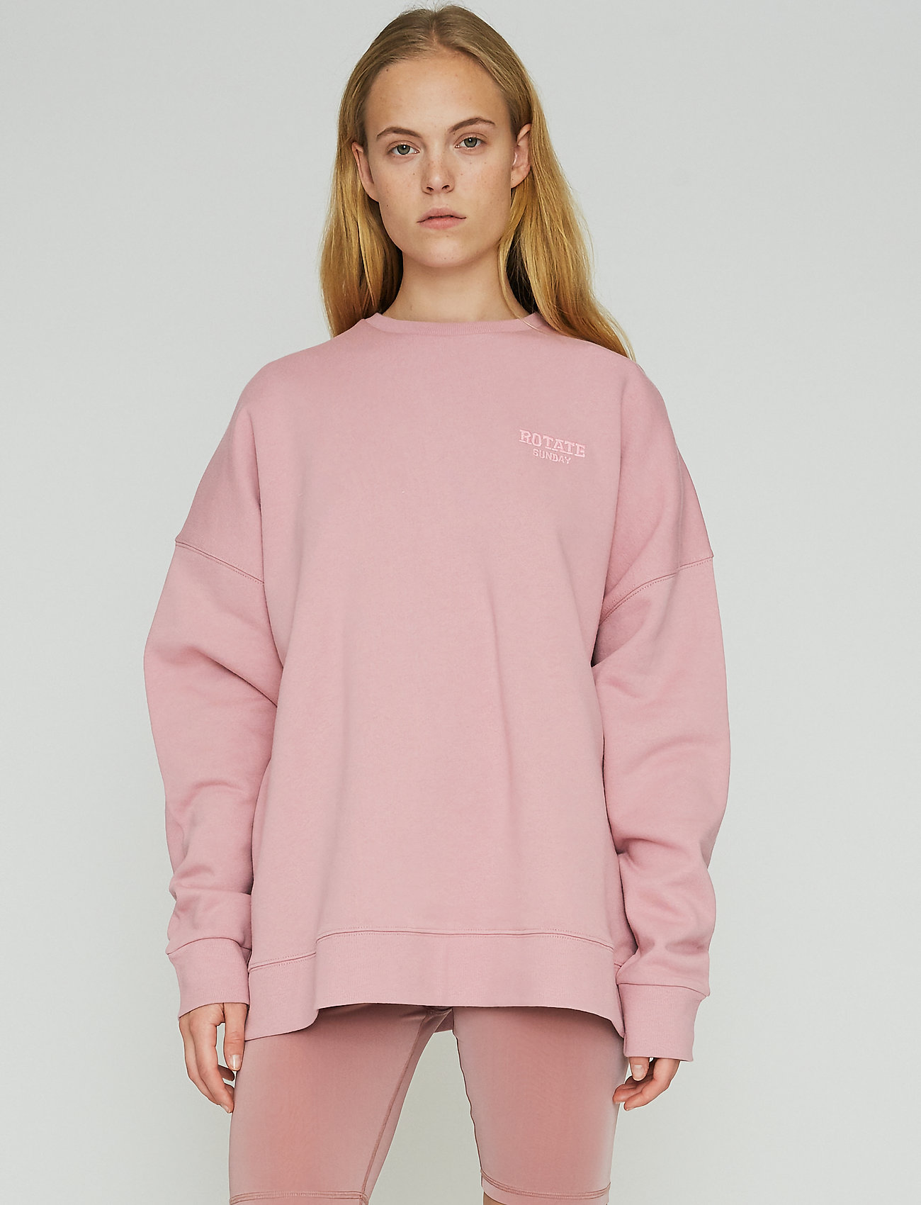 ROTATE Birger Christensen - Iris Crewneck - sweatshirts en hoodies - lilas - 0