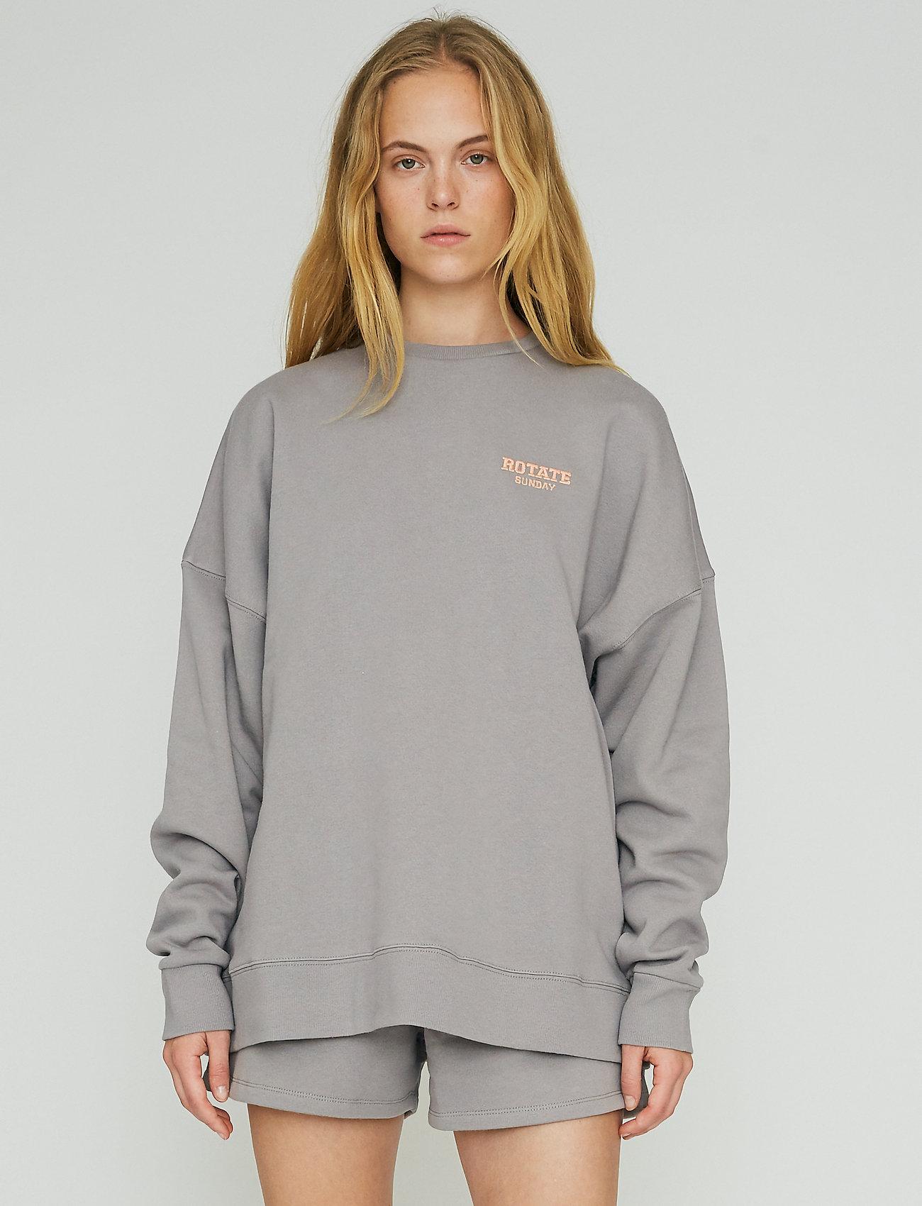 ROTATE Birger Christensen - Iris Crewneck - sweatshirts en hoodies - cloudburst - 0