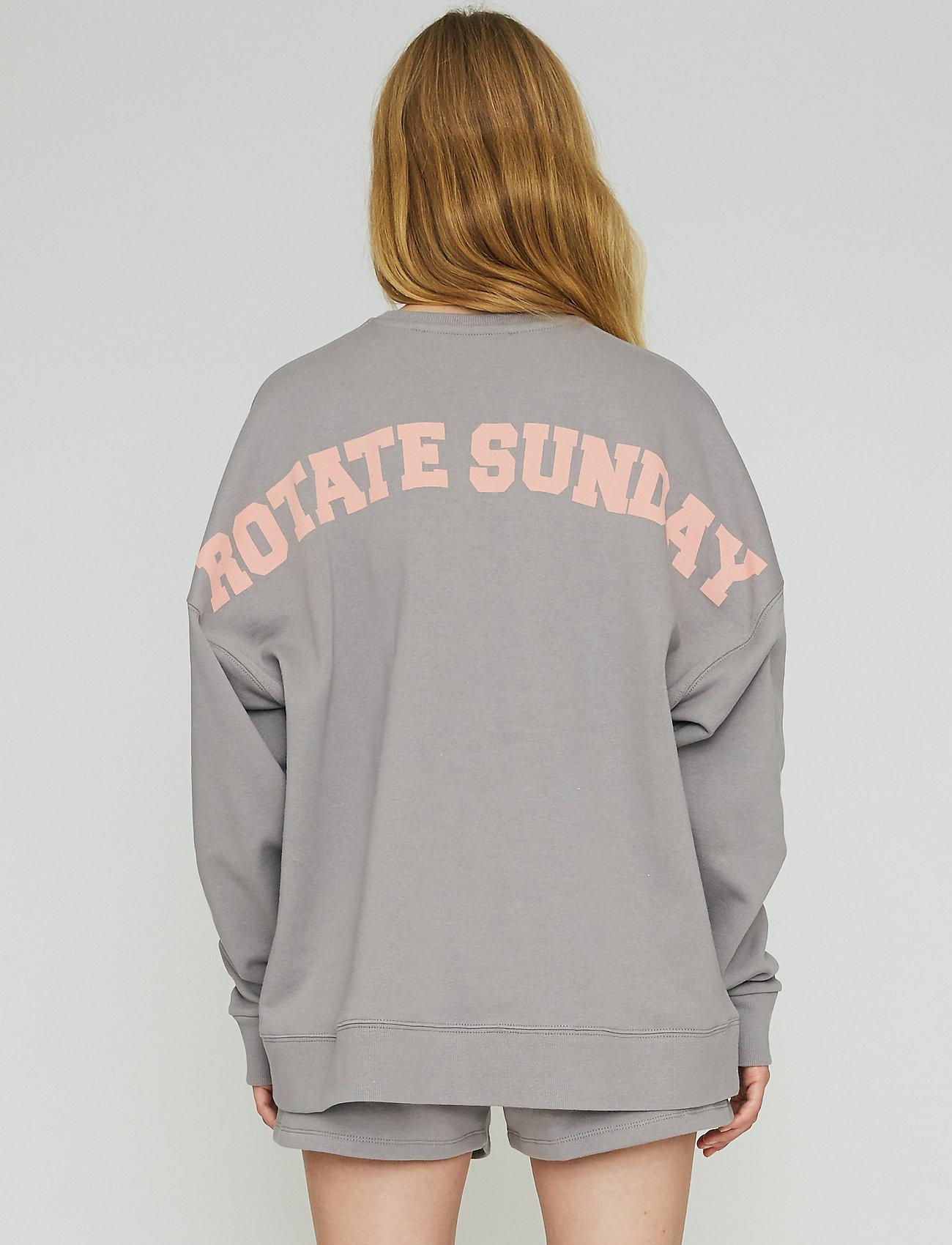 ROTATE Birger Christensen - Iris Crewneck - sweatshirts en hoodies - cloudburst - 3