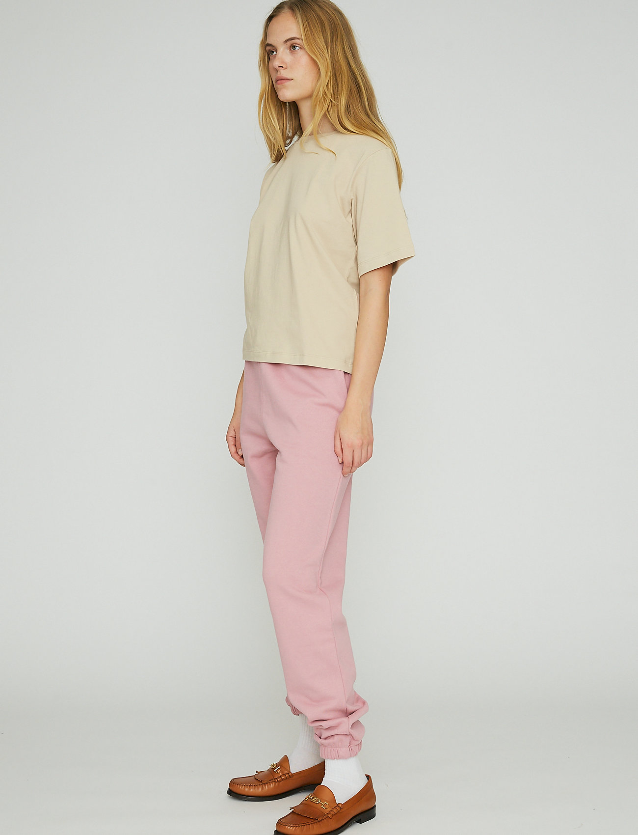 ROTATE Birger Christensen - Mimi Sweatpants Large Print - neue mode - lilas - 4