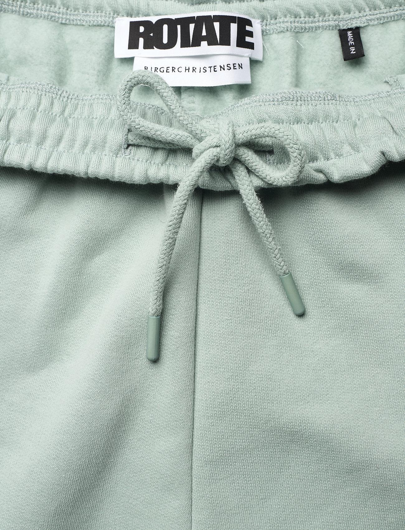 ROTATE Birger Christensen - Mimi Sweatpants Large Print - neue mode - blue surf - 3