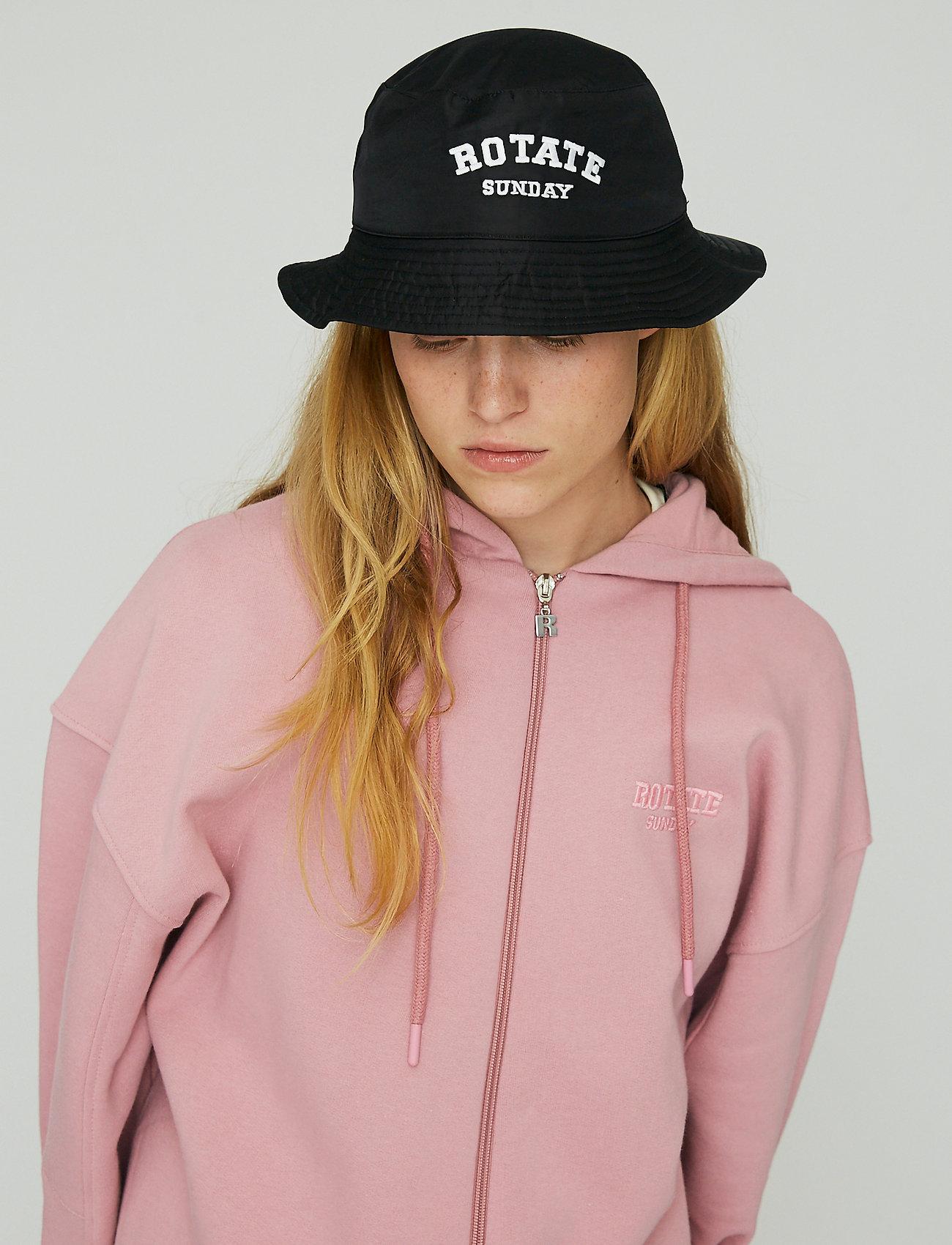 ROTATE Birger Christensen - Bianca Bucket Hat - bøllehatte - black - 0