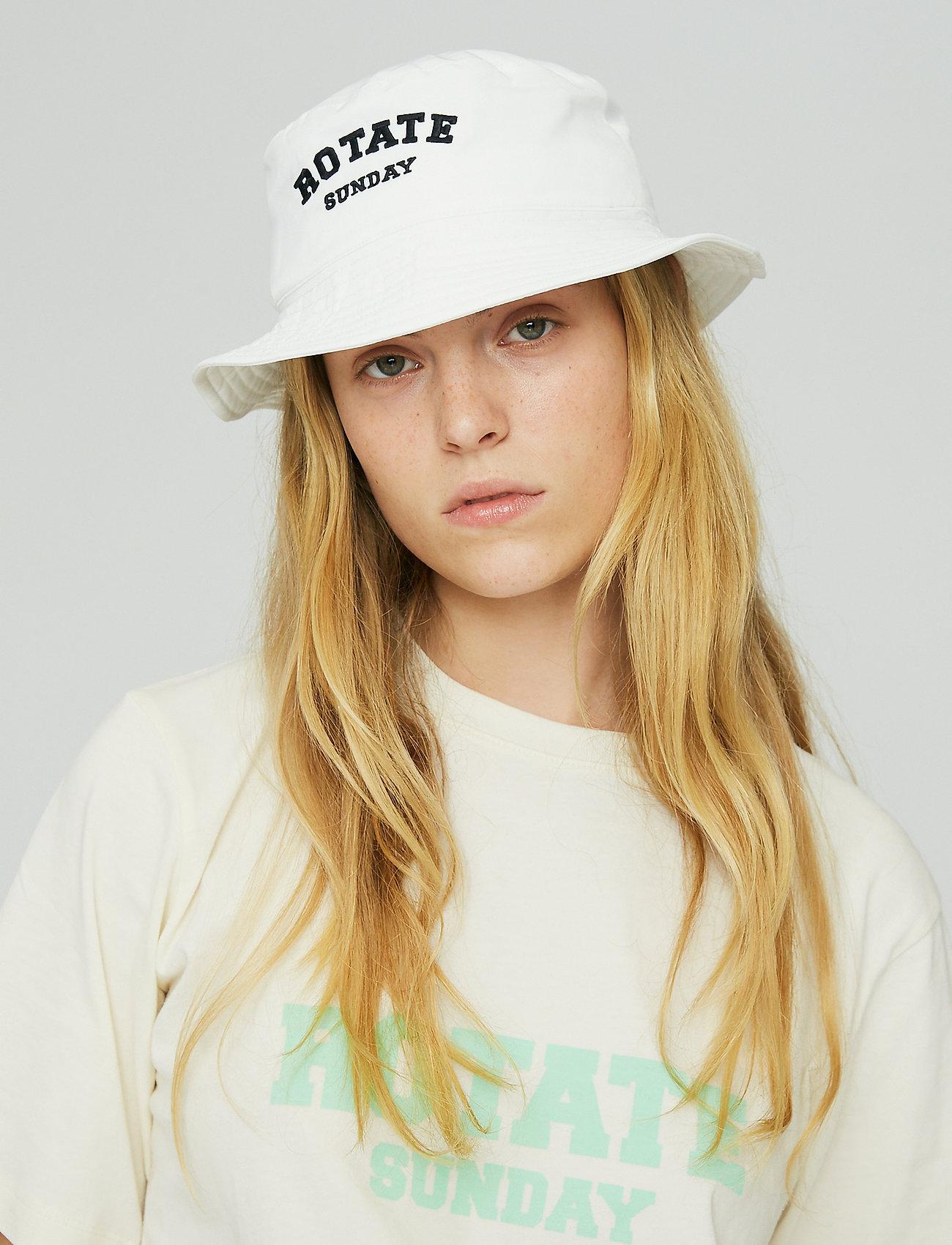 ROTATE Birger Christensen - Bianca Bucket Hat - emmer hoeden - bright white - 3