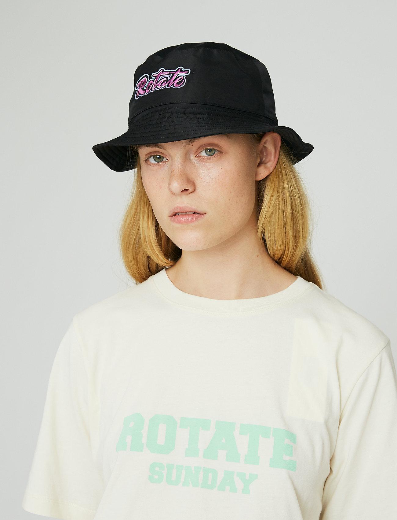 ROTATE Birger Christensen - Meryl Bucket Hat - bøllehatte - black - 4