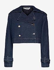 ROTATE Birger Christensen - Loretta Jacket - jeansjacken - dark blue denim - 0