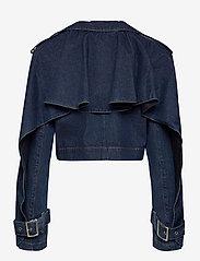 ROTATE Birger Christensen - Loretta Jacket - jeansjacken - dark blue denim - 1