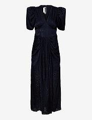 Alma Dress - DARK SAPPHIRE