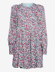 ROTATE Birger Christensen - Alison Dress - alledaagse jurken - antigua sand comb - 0