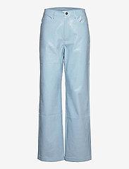 ROTATE Birger Christensen - Rotie Pants - leren broeken - corydalis blue - 0