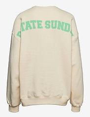 ROTATE Birger Christensen - Iris Crewneck - sweatshirts en hoodies - winter white - 1
