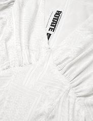 ROTATE Birger Christensen - Alma Dress - bright white - 2