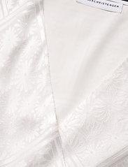 ROTATE Birger Christensen - Jeanette Wrap Top - langærmede bluser - bright white - 2