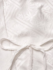 ROTATE Birger Christensen - Jeanette Wrap Top - langærmede bluser - bright white - 3