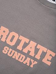 ROTATE Birger Christensen - Aster T-Shirt - t-shirts - cloudburst - 5