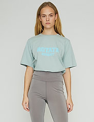 ROTATE Birger Christensen - Aster T-Shirt - t-shirts - blue surf - 0