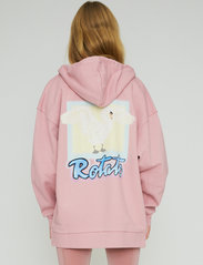 ROTATE Birger Christensen - Selma Hoddie Zip - sweatshirts en hoodies - lilas - 3