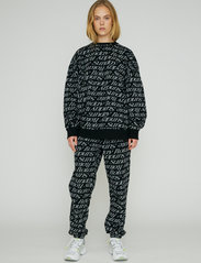 ROTATE Birger Christensen - Mimi Sweatpants Jacquard - neue mode - marshmallow comb - 0