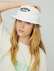 ROTATE Birger Christensen - Bianca Bucket Hat - emmer hoeden - bright white - 4