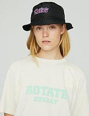 ROTATE Birger Christensen - Meryl Bucket Hat - bøllehatte - black - 0