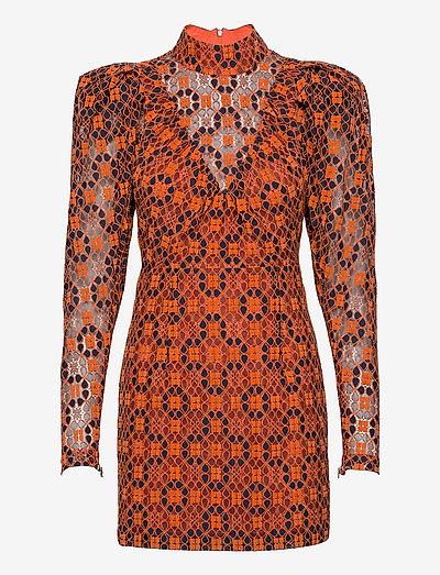 Ida Dress - sukienka koktajlowa - mandarin orange