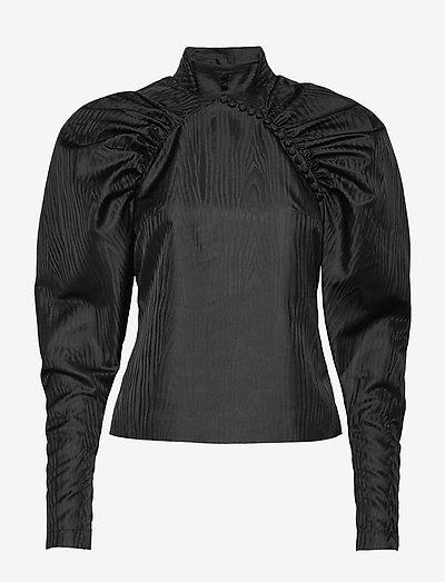 Kimi Top - blouses met lange mouwen - black