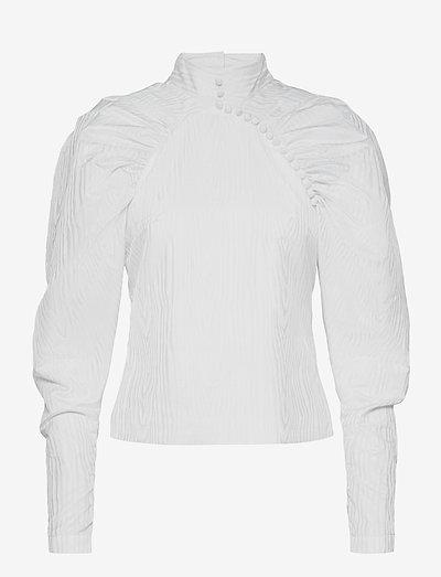 Kimi Top - langärmlige blusen - bright white