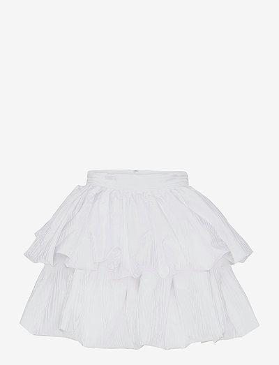 Carmina Skirt - kort skjørt - bright white