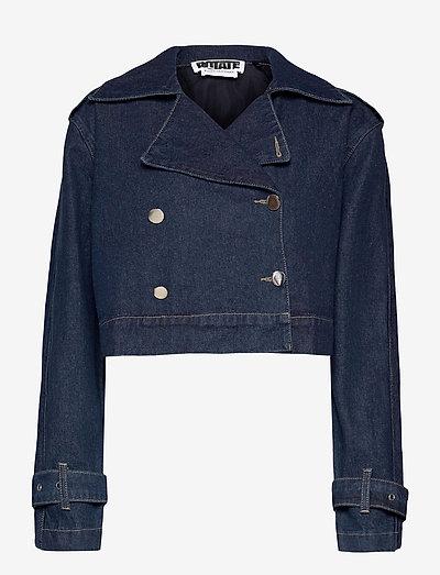 Loretta Jacket - jeansjacken - dark blue denim