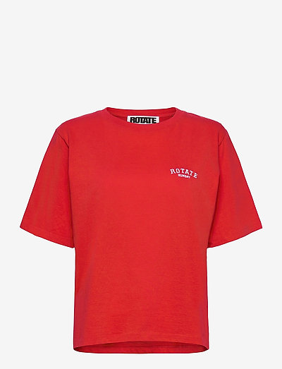 Aster T-shirt - t-shirts & tops - flame scarlet