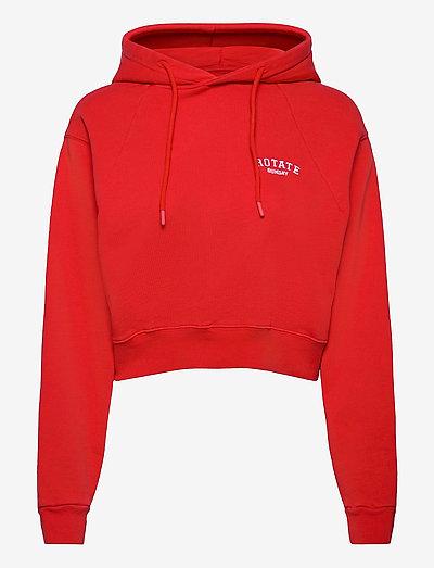 Viola Hoodie - sweatshirts en hoodies - flame scarlet