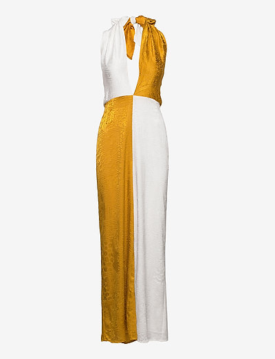 Meghan Jumpsuit - kleidung - spicy mustard comb