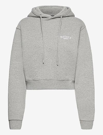Viola Hoodie - sweatshirts en hoodies - grey melange
