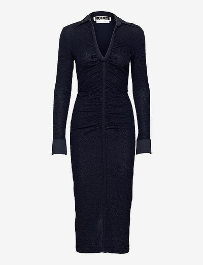 Simone Dress - cocktail dresses - dark sapphire